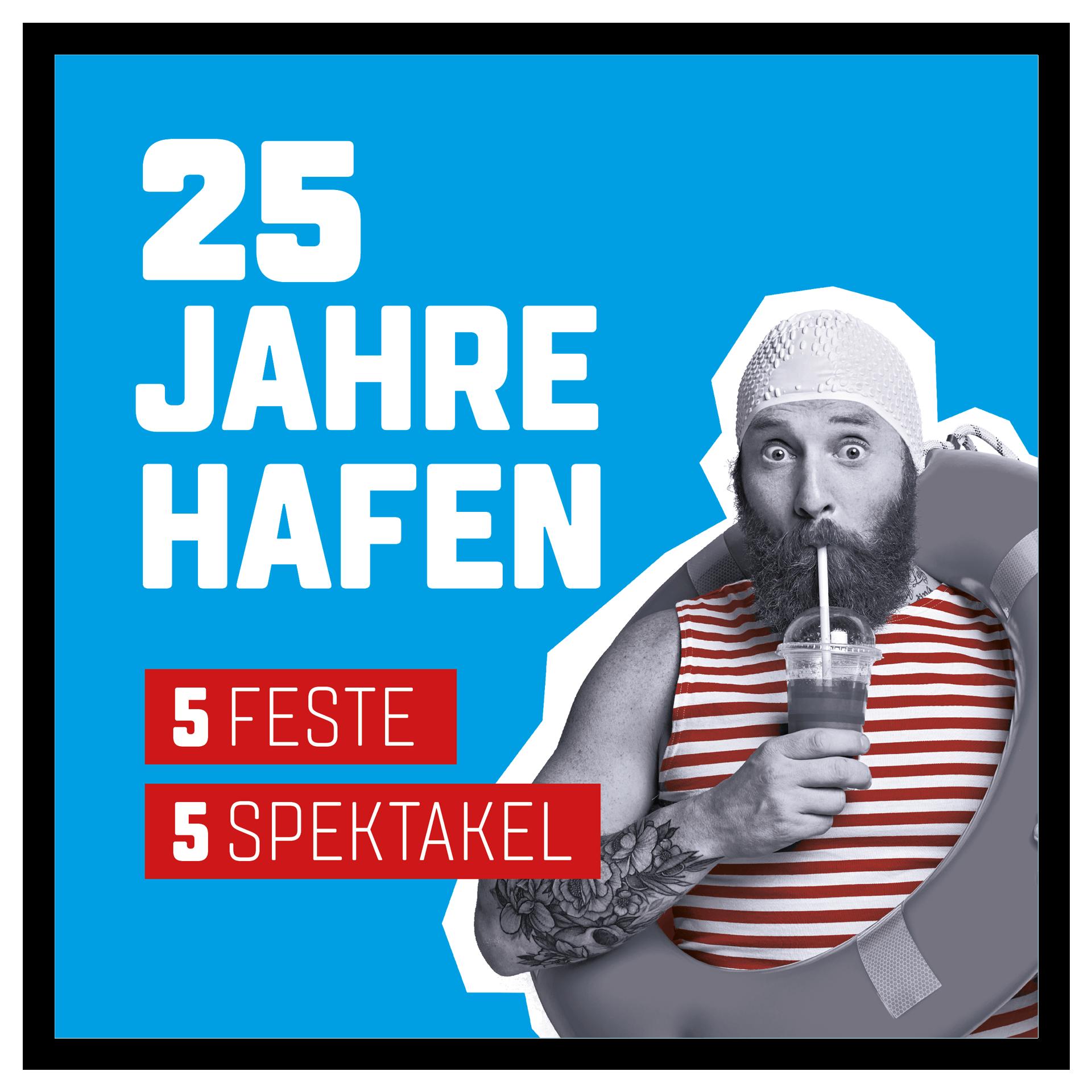 25 Jahre HAFEN STRAUBING-SAND Badge